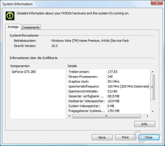 Nvidia GeForce 177.83