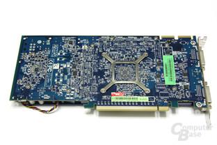 Radeon HD 4850 1GB Rückseite