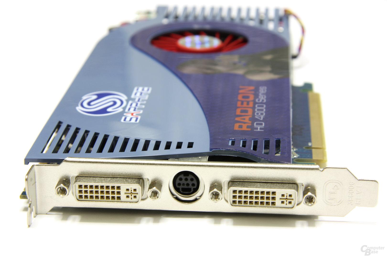 Radeon HD 4850 1GB Slotblech