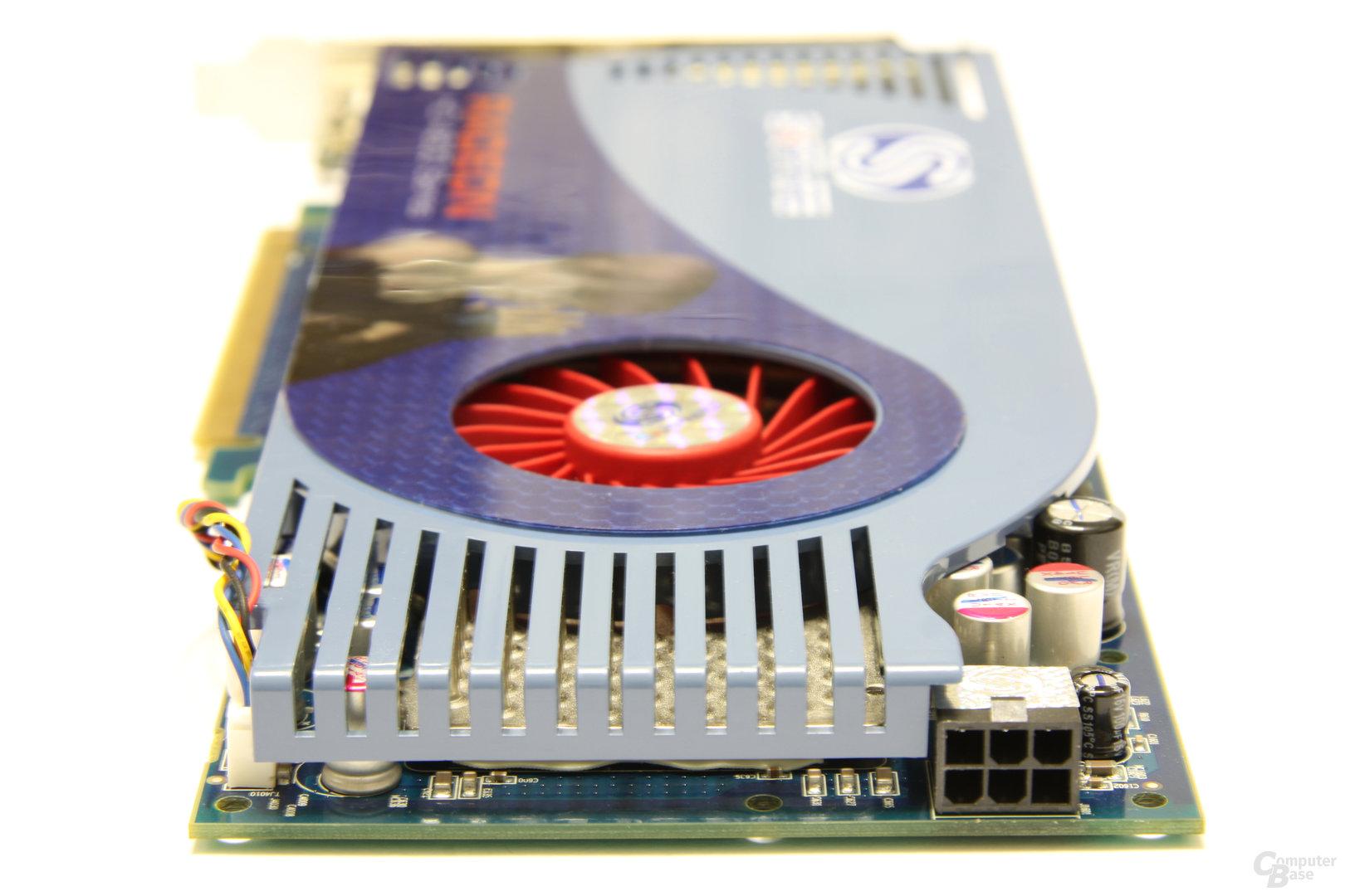 Radeon HD 4850 1GB Stromanschluss