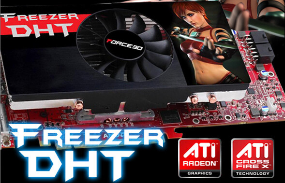 Force3D Radeon HD 4870 Freezer DHT