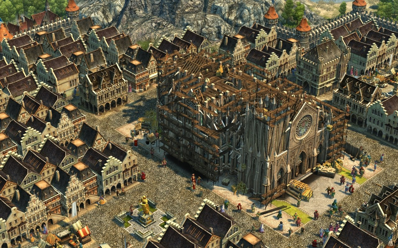 Kathedrale in Anno 1404