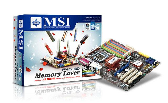 MSI P45-8D Memory Lover