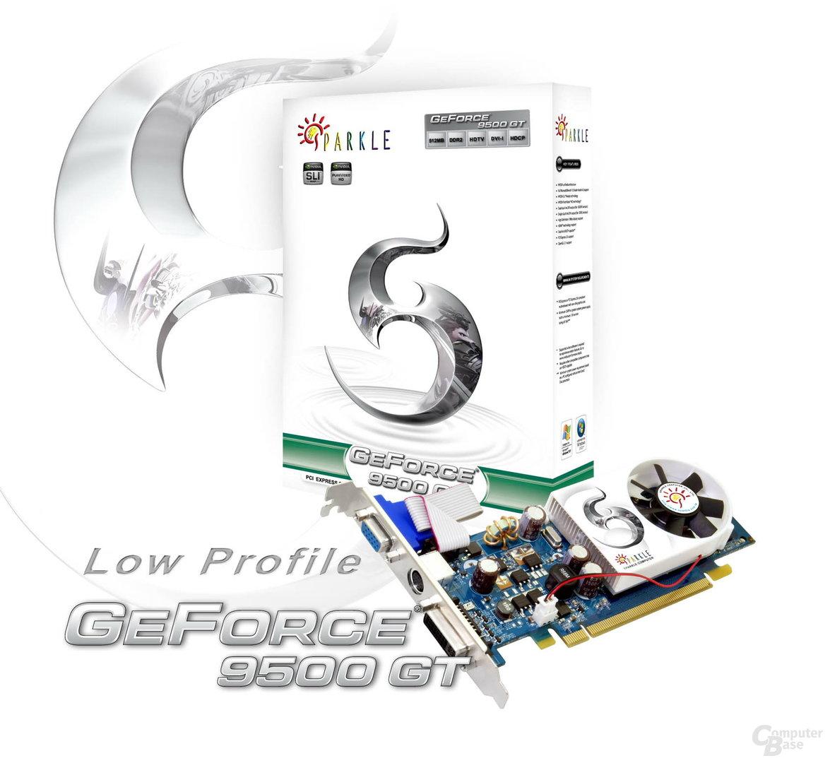 Sparkle GeForce 9500 GT Low Profile