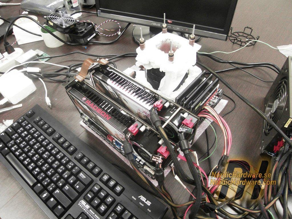 Core i7 auf Asus P6T bei -120 Grad