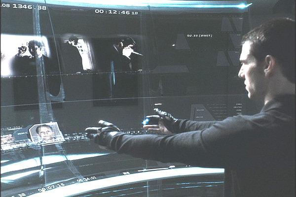 Tom Cruise in Minority Report