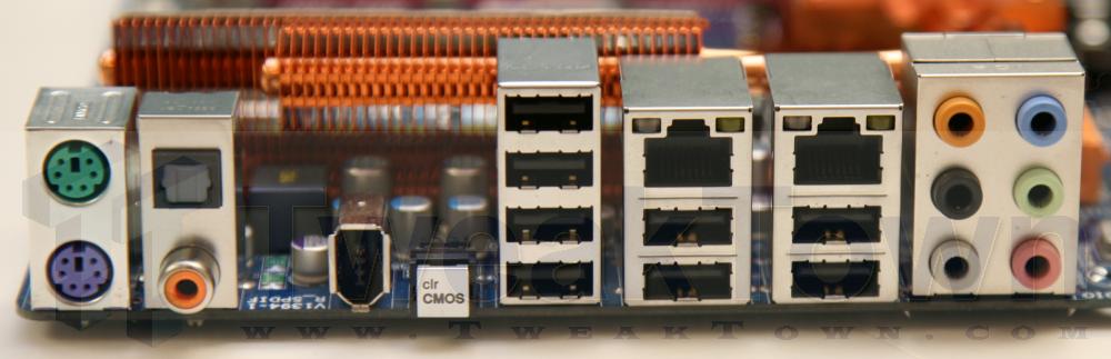 Gigabyte X58-Mainboard
