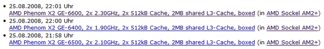 AMD Phenom X2