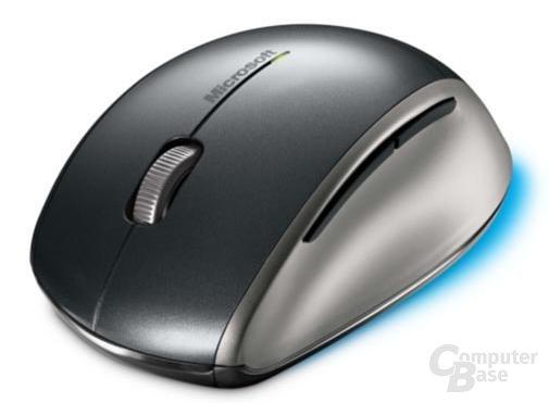 Microsofts BlueTrack-Maus