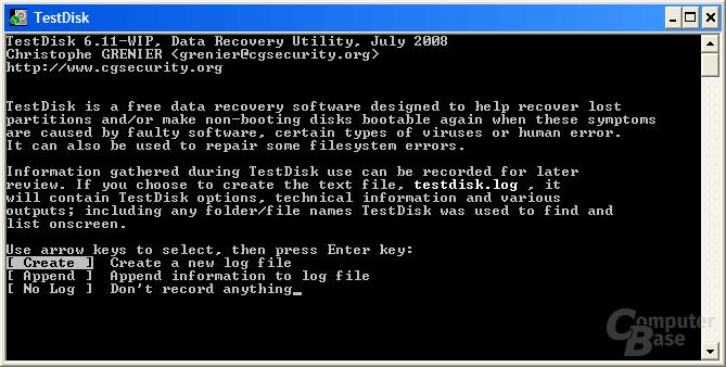 Log-Datei erstellen