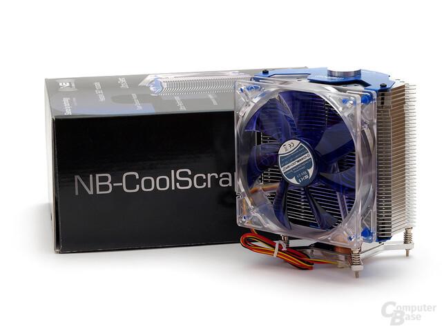 Noiseblocker Cool-Scraper 3 – leider noch immer mit Kinderkrankheiten