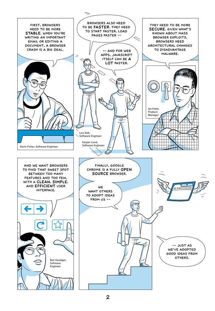 Google Chrome Comic – Seite 2
