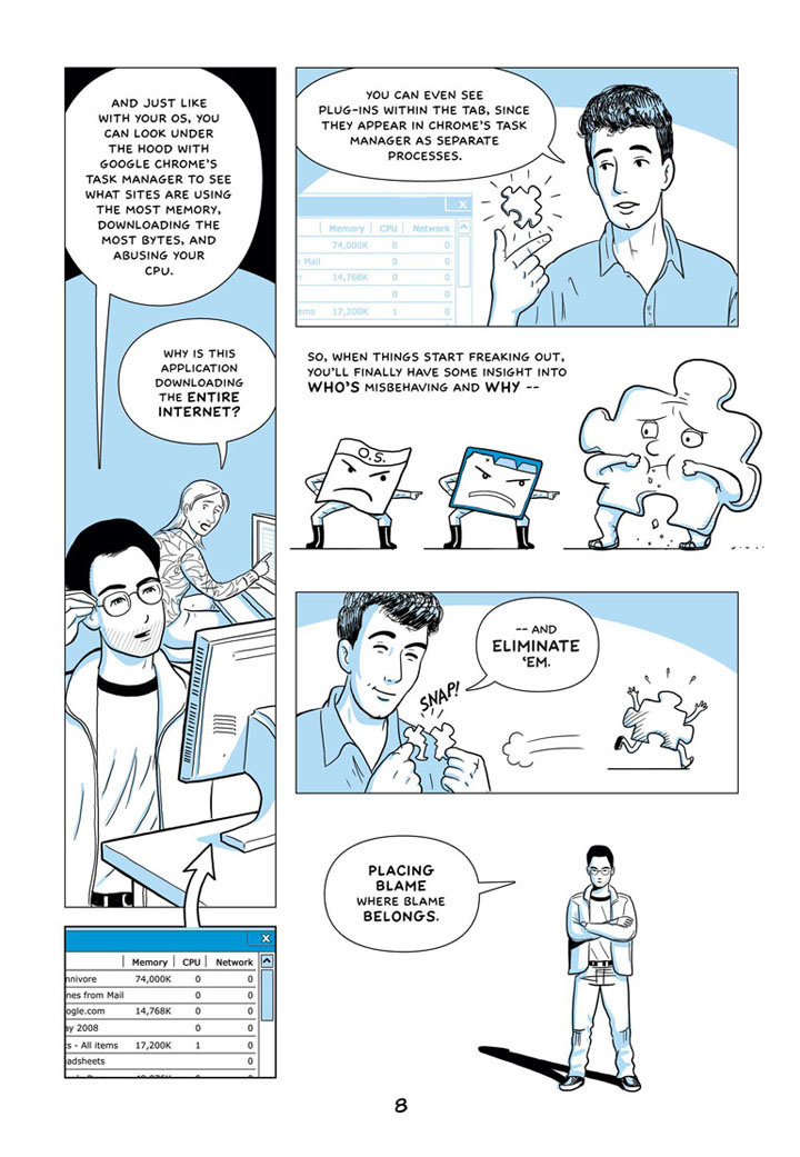 Google Chrome Comic – Seite 8