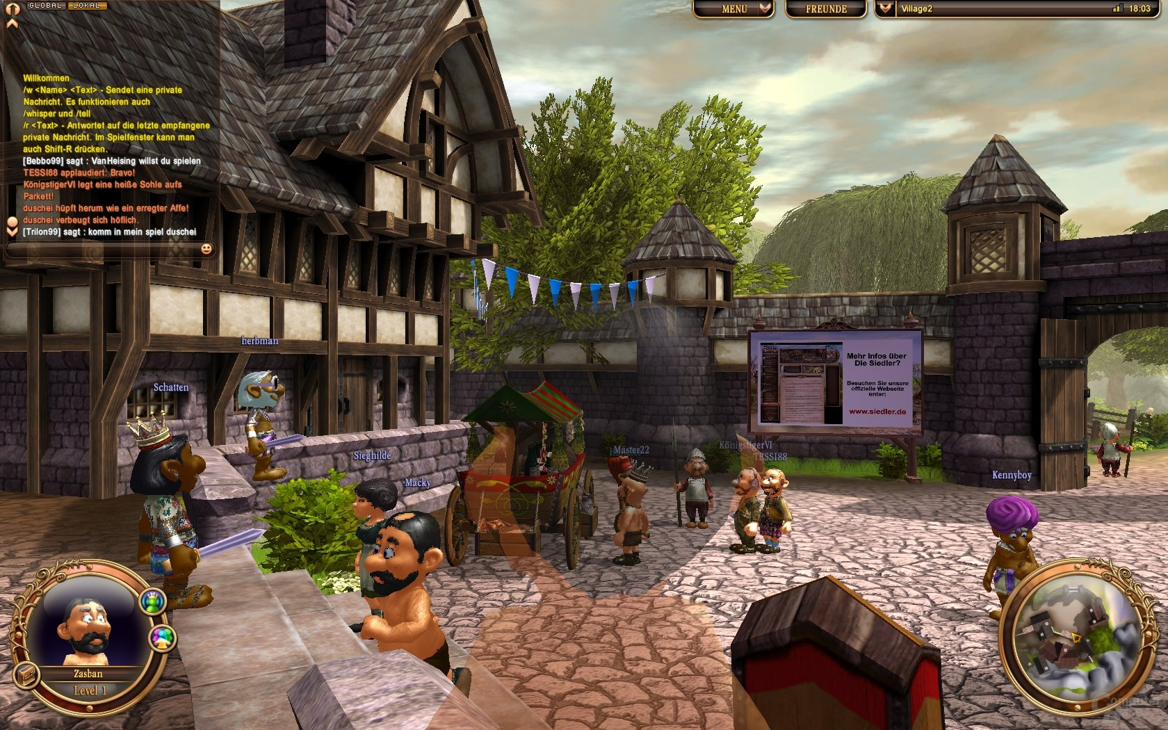 AdK - Multiplayer-Lobby