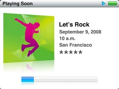 Let's Rock: Apple Special-Event am 9. September 2008