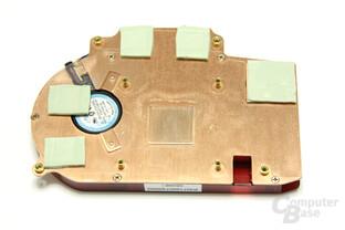 Radeon HD 4670 Kühlerrückseite