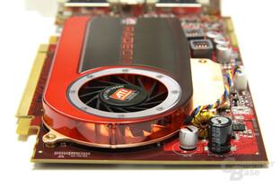 Radeon HD 4670 von hinten