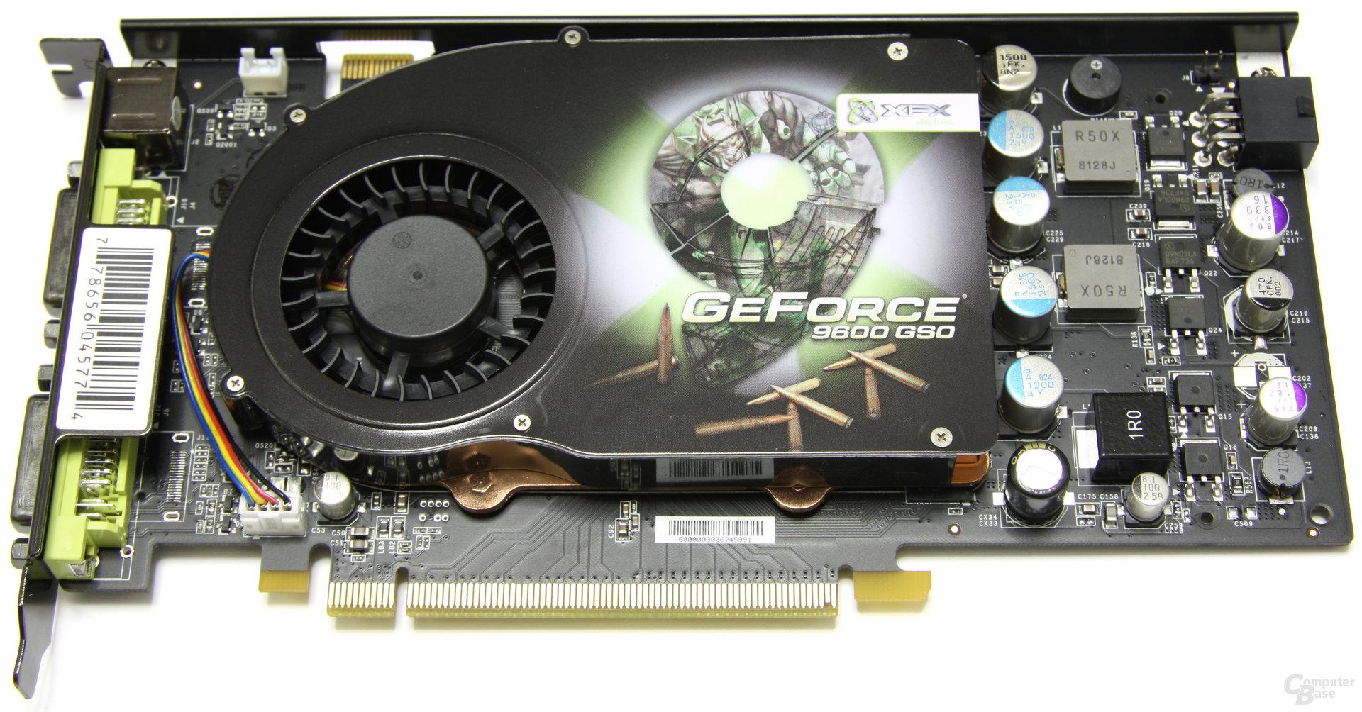 Die Konkurrenz GeForce 9600 GSO
