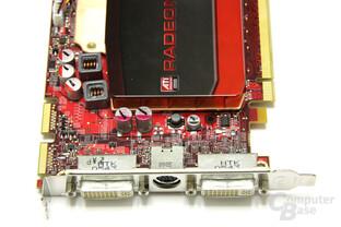 Radeon HD 4670 Anschlüsse