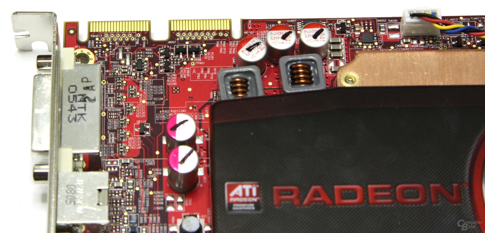 Radeon HD 4670 CF-Anschluss