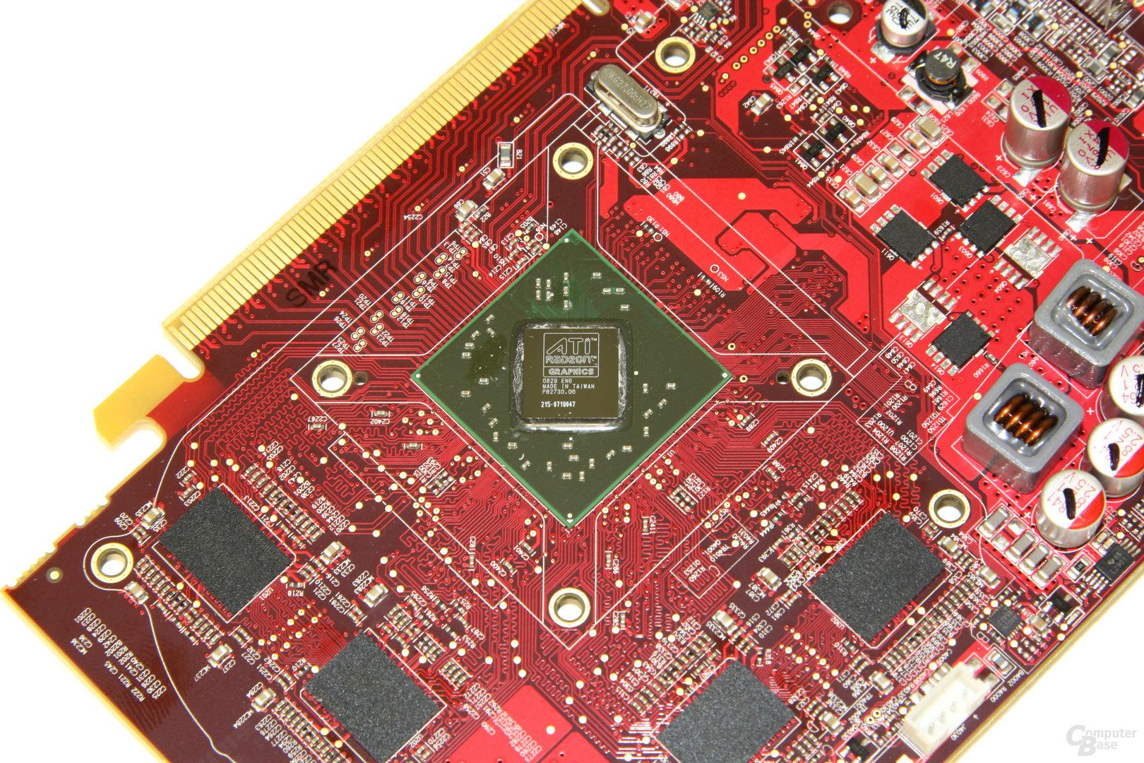 Radeon HD 4670 GPU und Speicher