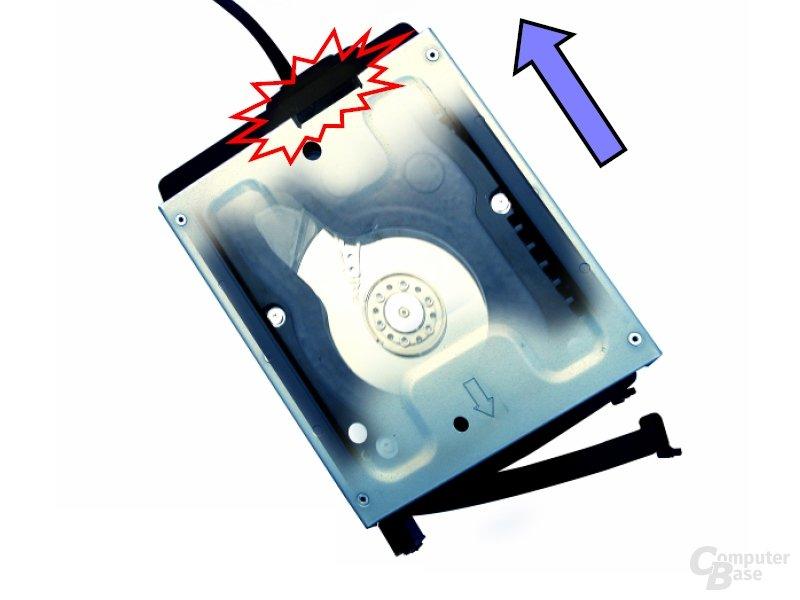 SilverStone CP05 HDD Hot-Swap-SATA-Kabel
