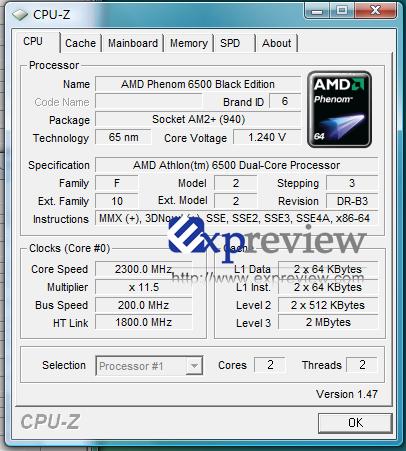 AMD Athlon X2 6500