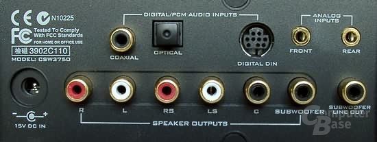 Digital DIN bei einem Inspire 5.1 Digital 5700
