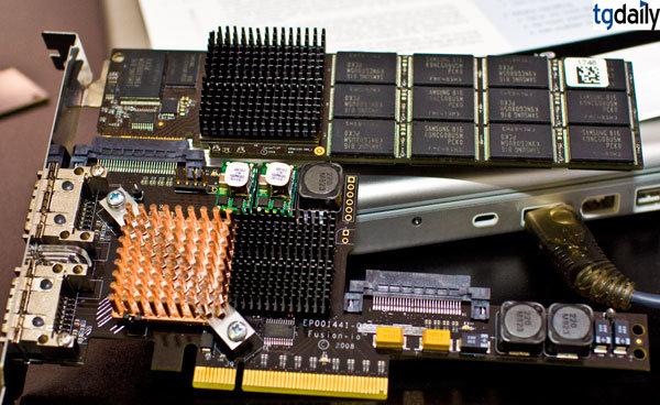 Fusion-io ioSAN mit 1x 320 GB