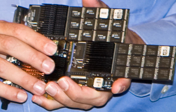Fusion-io ioSAN mit 2x 320 GB