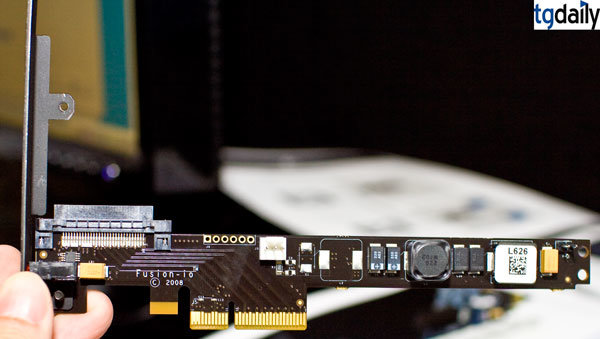 Fusion-io ioDrive PCIe-x4-Controler