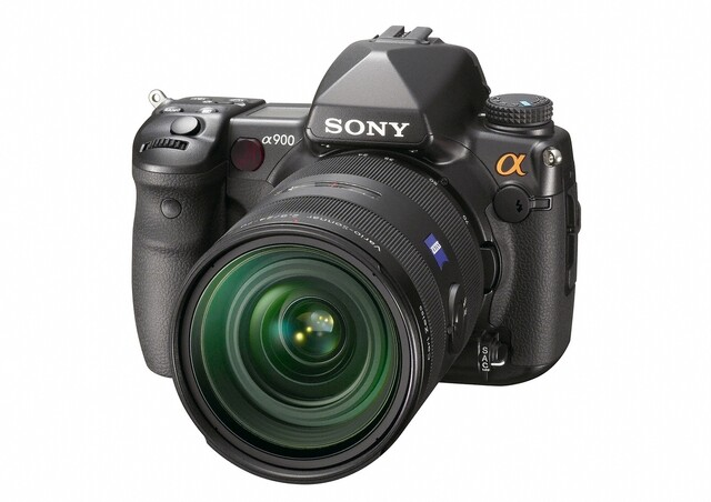 Sony Alpha 900 mit 24-70mm 1:2,8 Carl Zeiss Objektiv