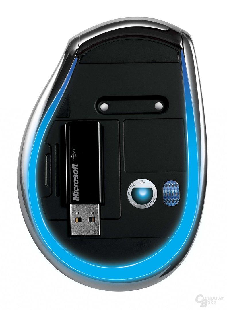 Explorer Mouse mit BlueTrack-Technologie