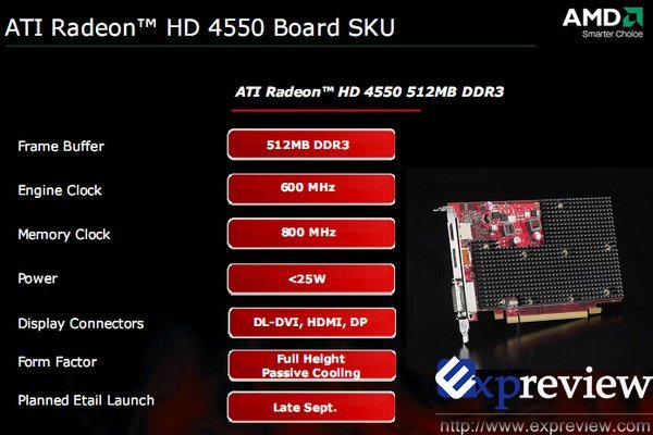 ATi Radeon HD 4550