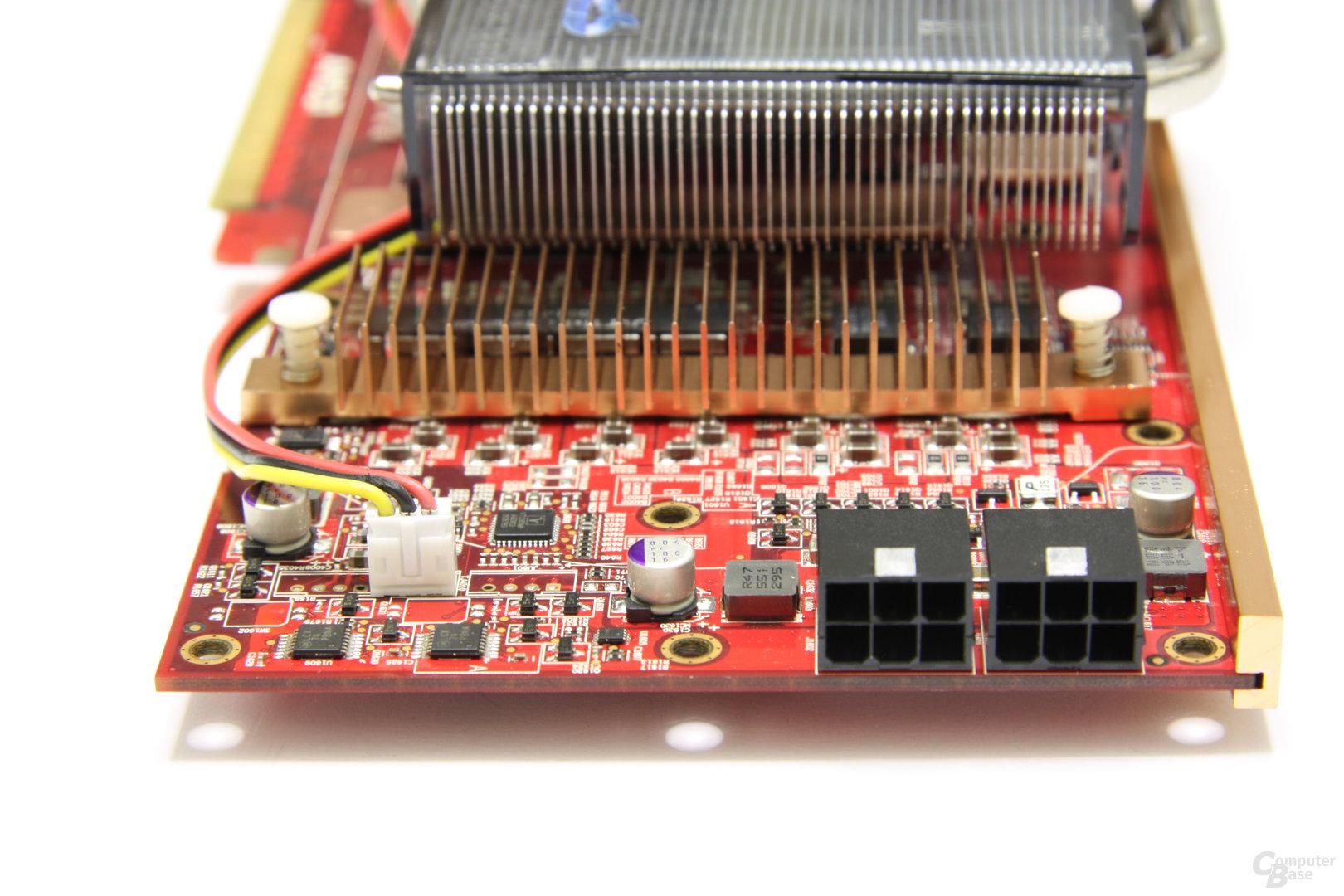 Radeon HD 4870 PCS+ von Hinten