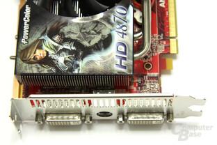 Radeon HD 4870 PCS+ von Vorne