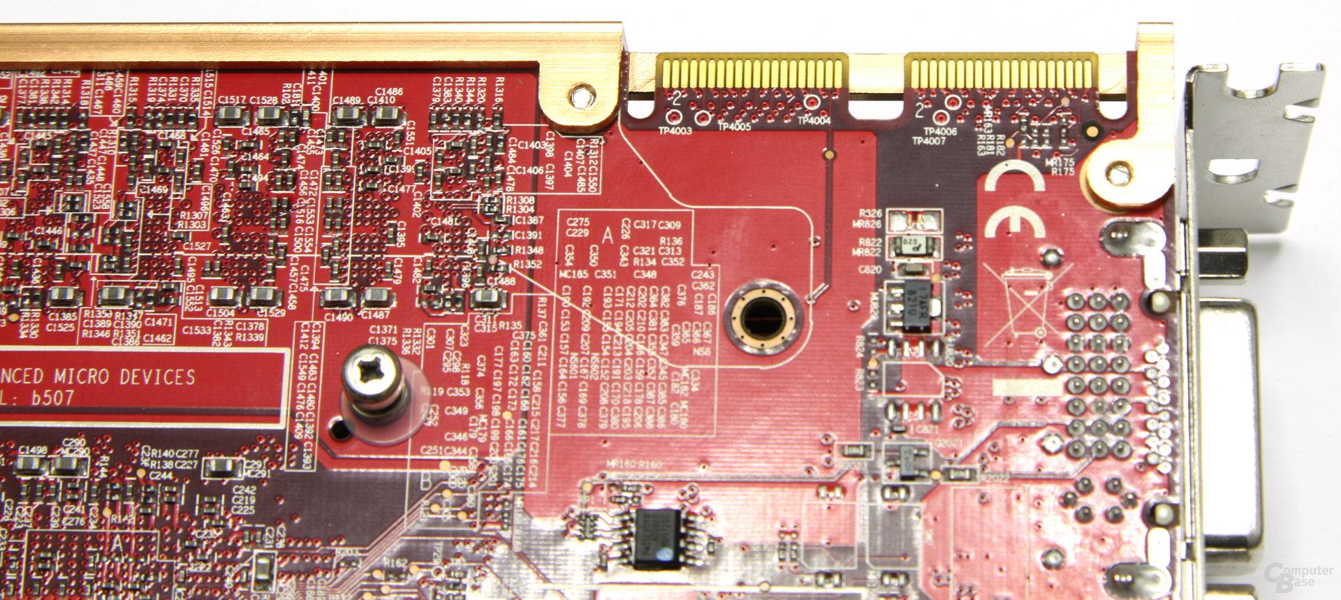 Radeon HD 4870 PCS+ CF-Anschluss