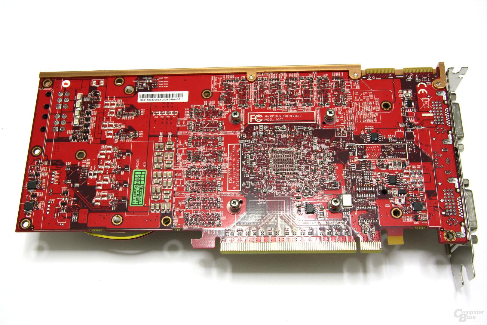 Radeon HD 4870 PCS+ Rückseite