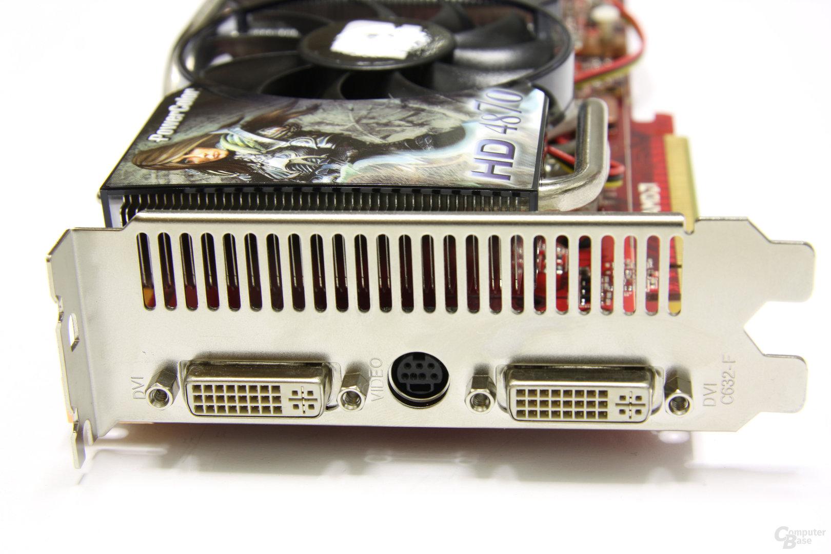 Radeon HD 4870 PCS+ Slotblech