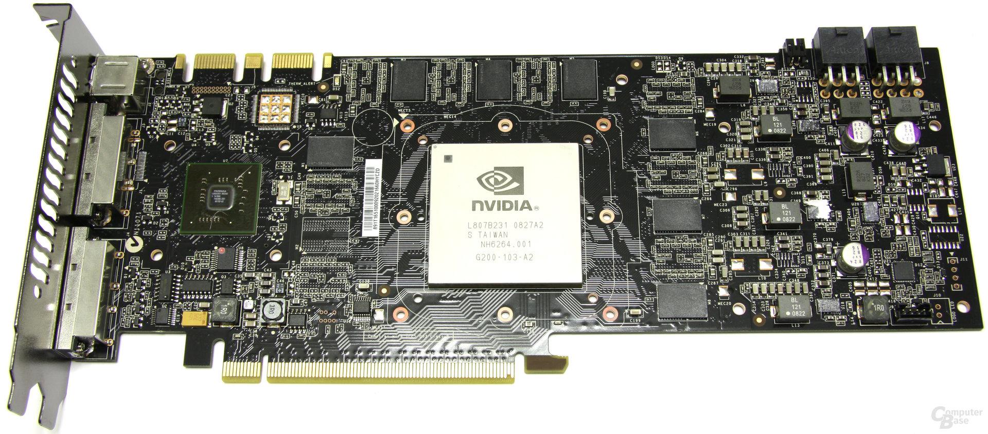GeForce GTX 260² ohne Kühler