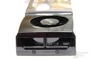 GeForce GTX 260² von hinten