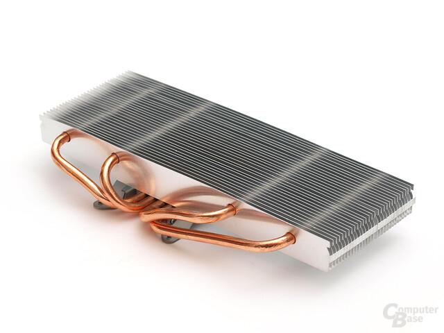 Kompakter Hybrid-Kühlkörper mit Vierfach-Heatpipe