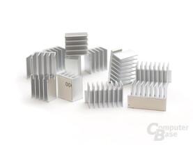 Ausreichend: Passive Zusatzkühler für Speicher und VRM