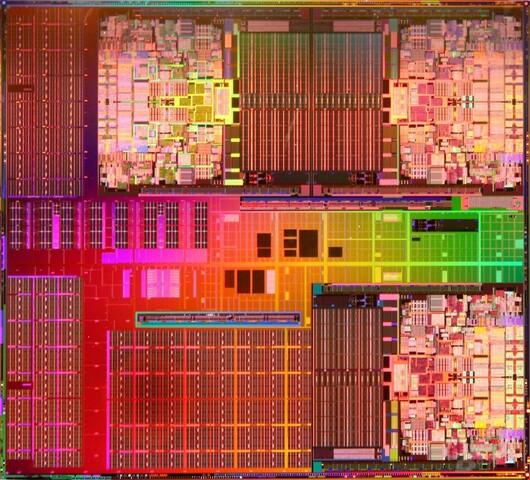 Sechs Kerne von Intel