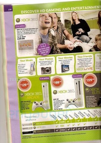 Woolworth-Prospekt zu kommenden Xbox-360-Preisen