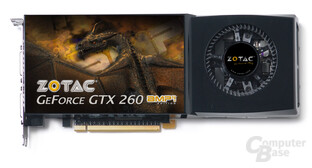 Zotac GeForce GTX 260 AMP²!