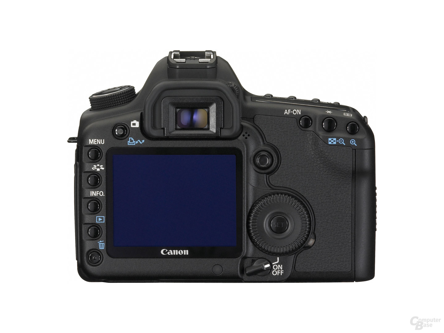 Canon EOS 5D Mark II – Rückseite