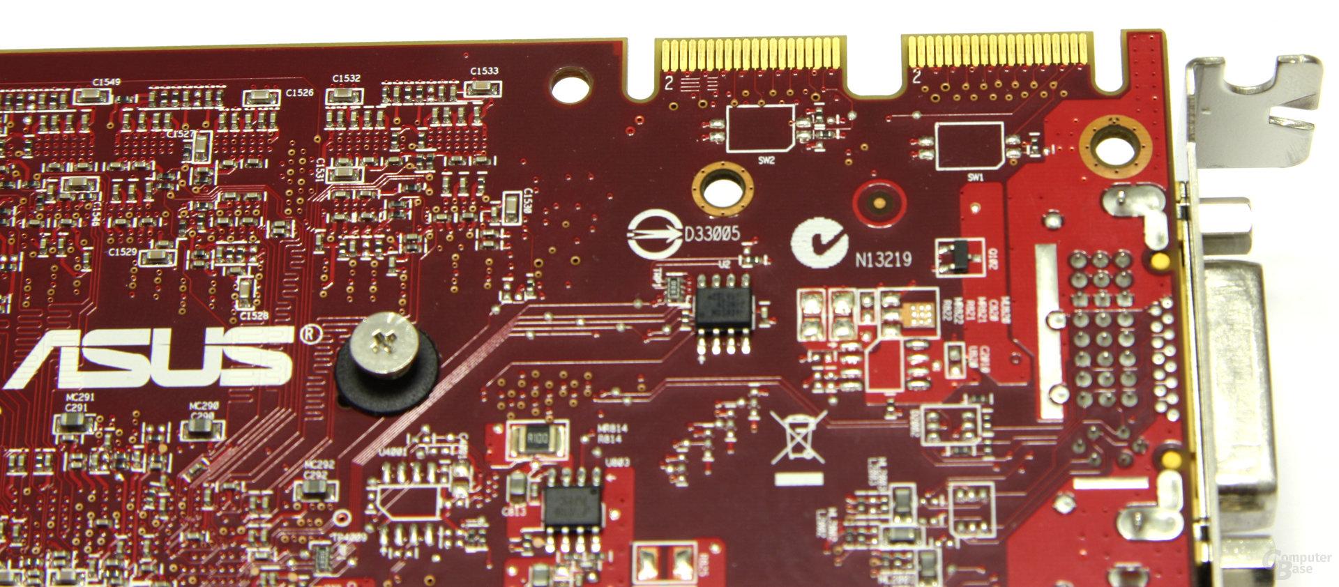 Radeon HD 4850 TOP CF-Anschlüsse