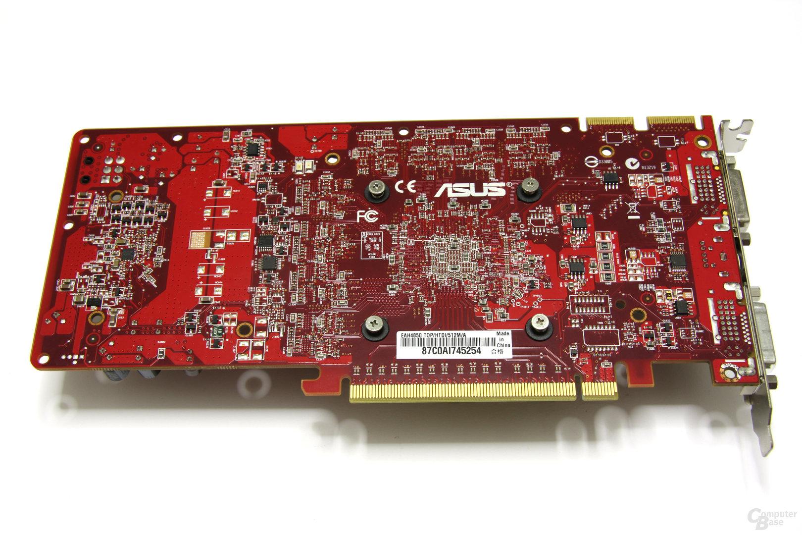 Radeon HD 4850 TOP Rückseite