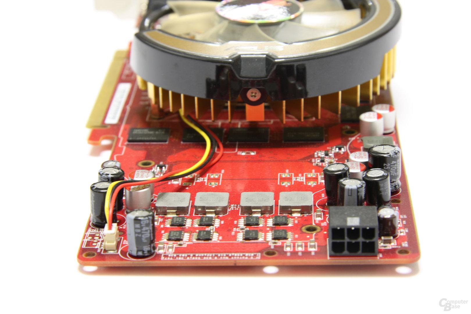 Radeon HD 4850 TOP von hinten